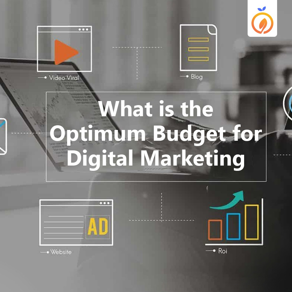 What is the optimum budget for Digital Marketing?